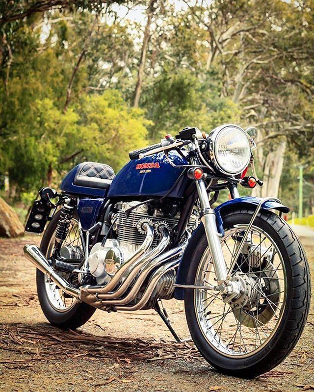 Motomood — Honda CB100 caferacer | Cafe racer style, Cafe