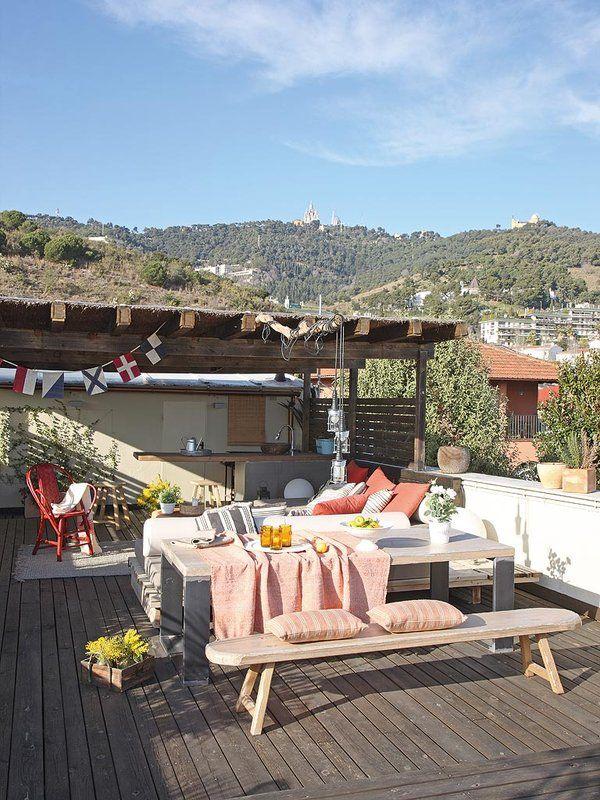Detalles que renovarán tu casa #terraza #atico