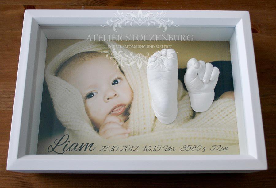 baby-hand-und-fuss-gipsabdruck-bilderrahmen.jpg 900×612 Pixel ...