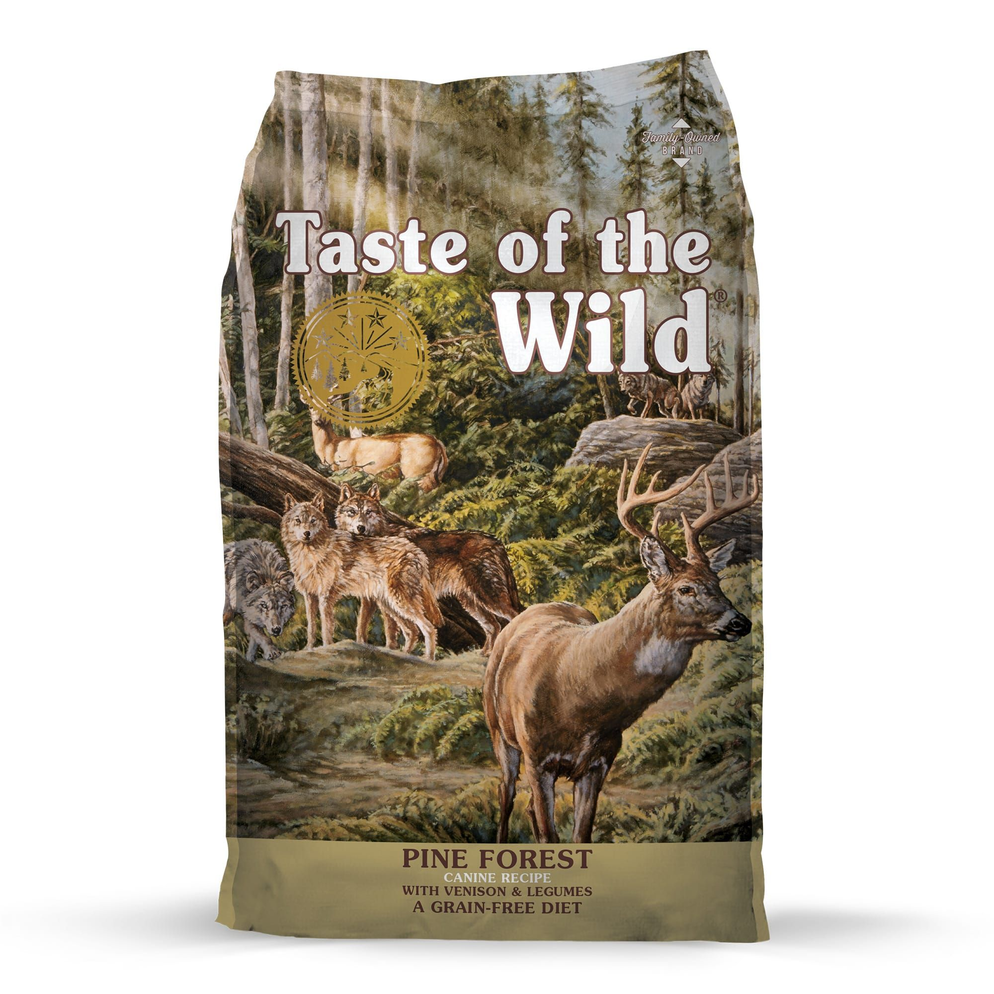 Taste Of The Wild Pine Forest Grain Free Roasted Venison Dry Dog Food 14 Lbs In 2020 Dry Dog Food Dog Food Recipes Dog Food Reviews