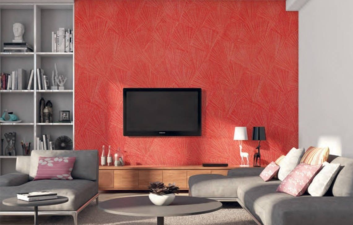 Texture Paint Designs For Living Room Textured Wall Painting Creates A Unique Look For Your In 2020 Interior Wall Colors Wall Texture Design Asian Paints Wall Designs #textured #wall #living #room