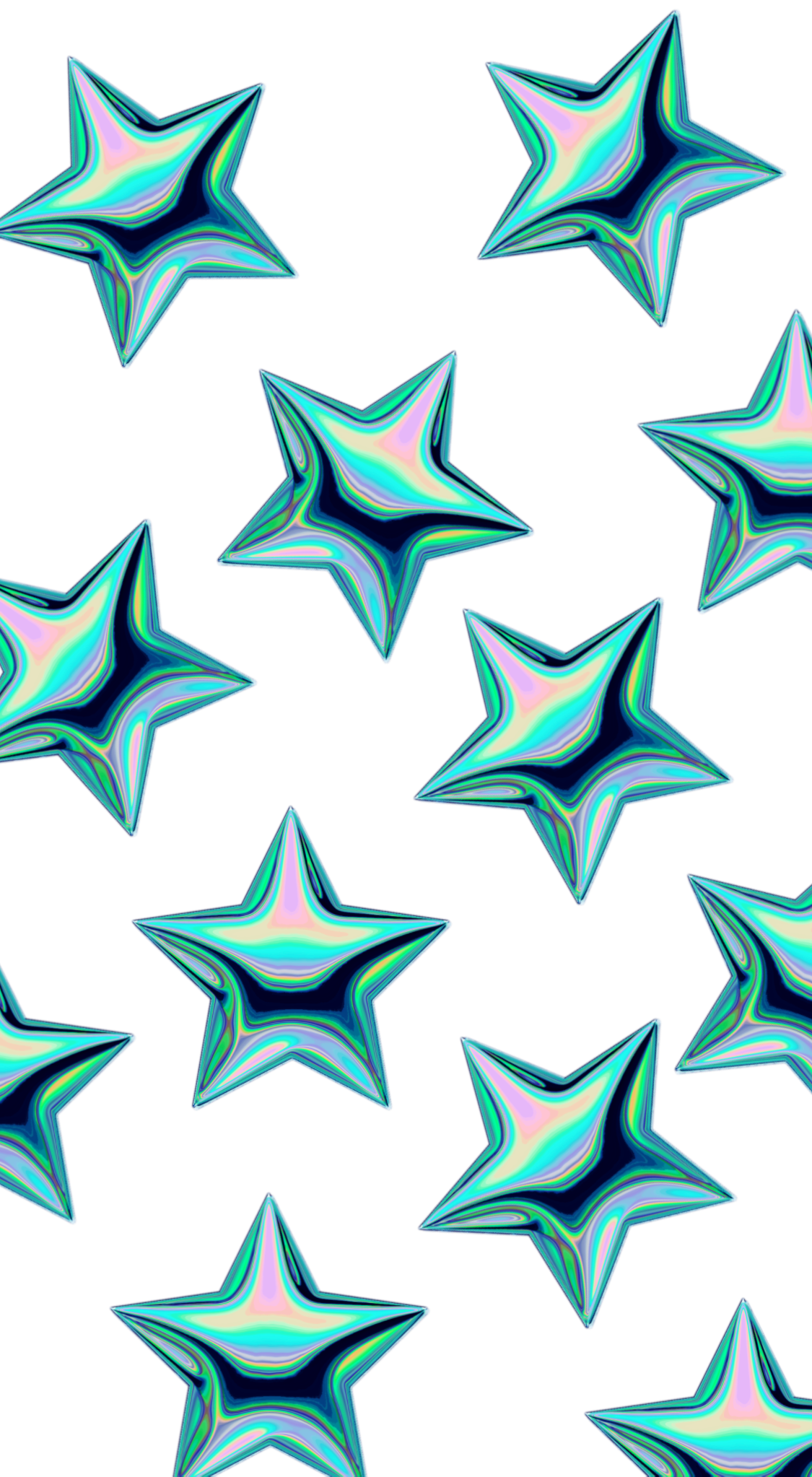 Star Pattern. Casetify iPhone Art Design