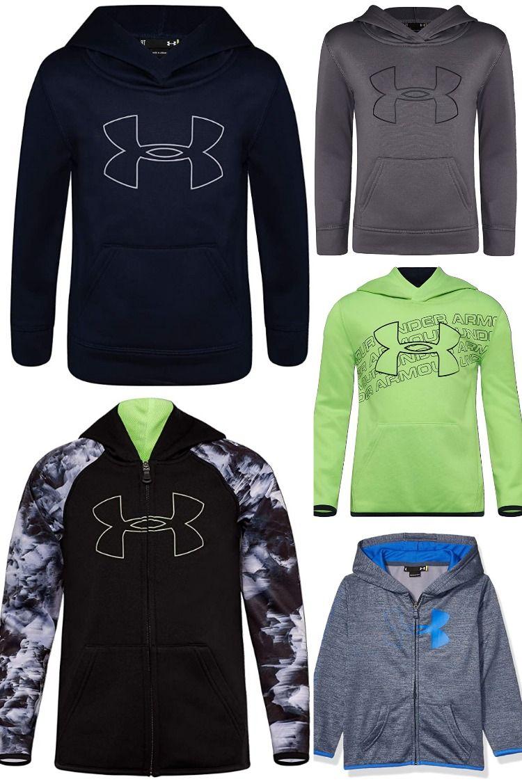 Under Armour Boys' Big Logo Hoodie | Hoodies, Active hoodie, Boys
