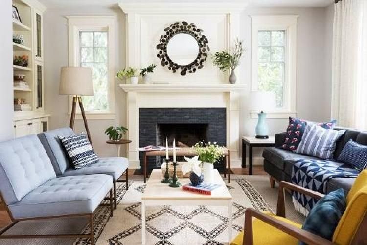 cozy livingroom for little square house ideas with images on paint ideas for living room id=94182