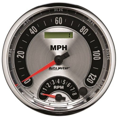 AutoMeter 1295 American Muscle Tach/Speedometer Combo