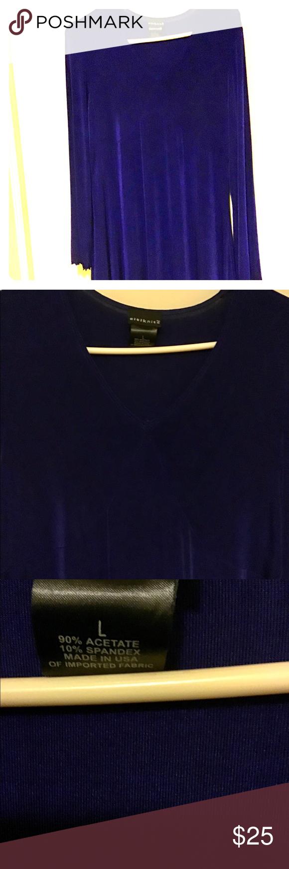 Royal Blue Citi Knits Tunic (With images) Knit tunic