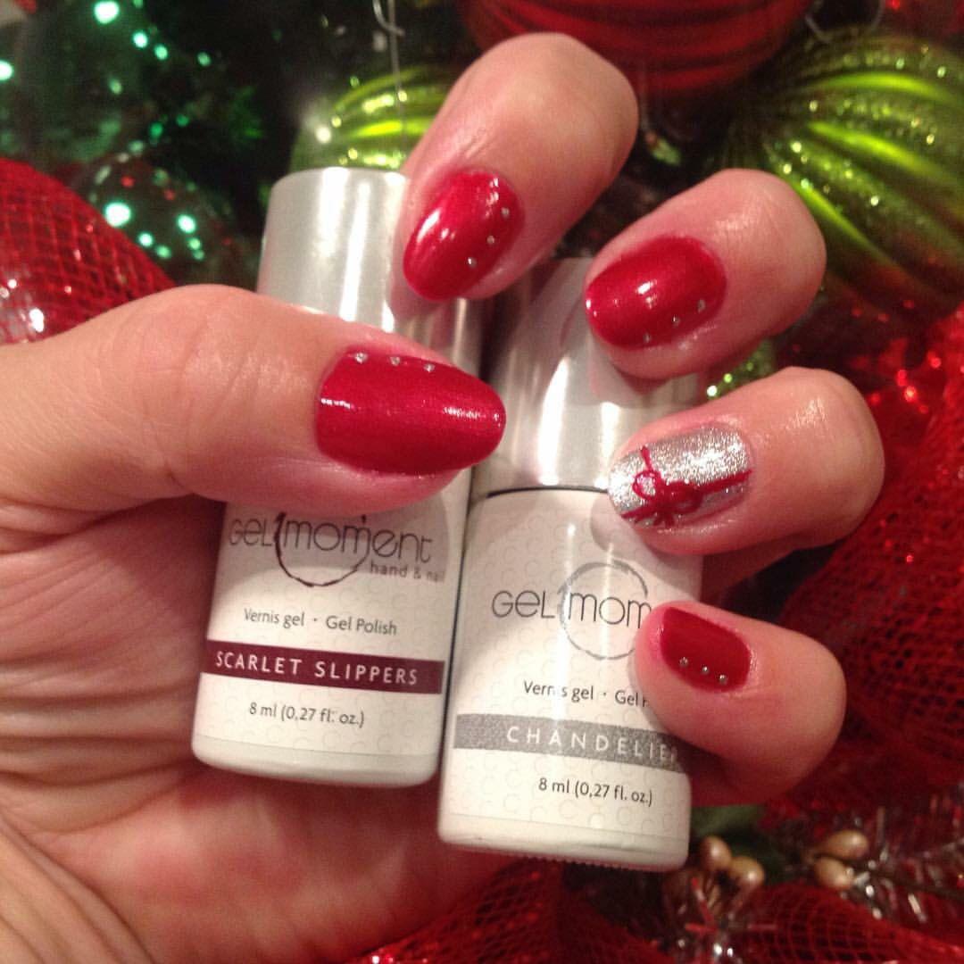 Gelmoment Christmas Nails Liquid Nails Gel Polish Nail Designs Christmas Nails
