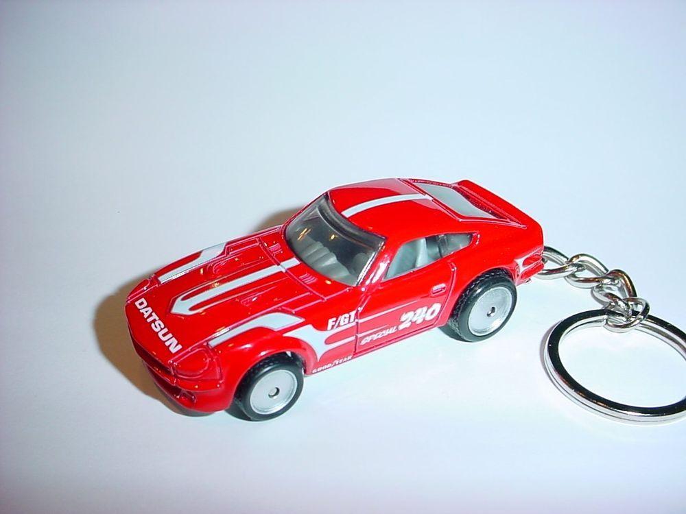 NEW 3D DATSUN 240Z CUSTOM KEYCHAIN keyring key RED racing ...