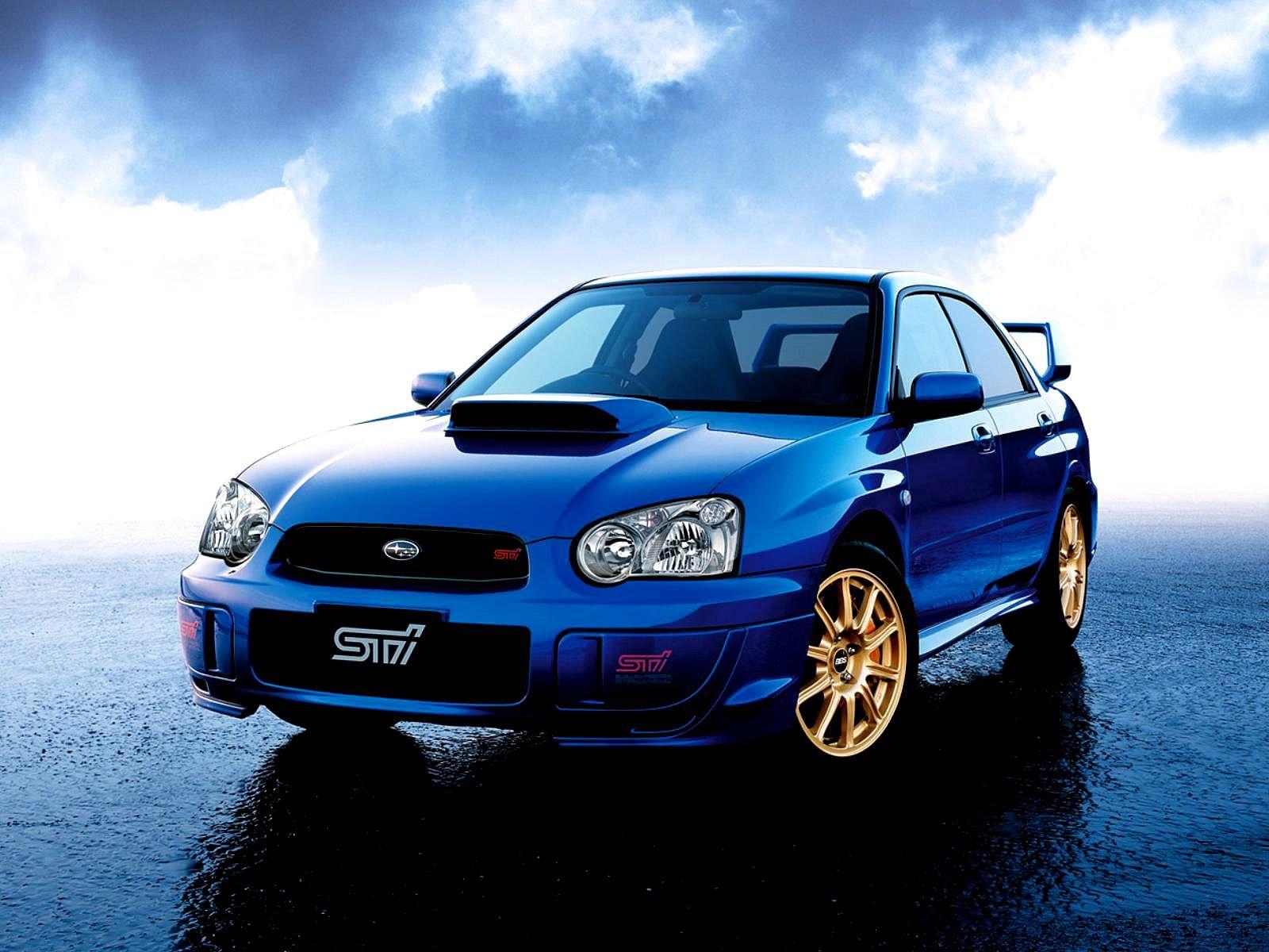 Subaru Impreza Wrx Sti Azul Subaru Impreza Wrx Sti Especial Japon