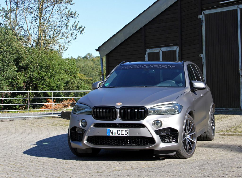 The Manhart MHX5 700 BMW X5 M is all about Power   Land, Air
