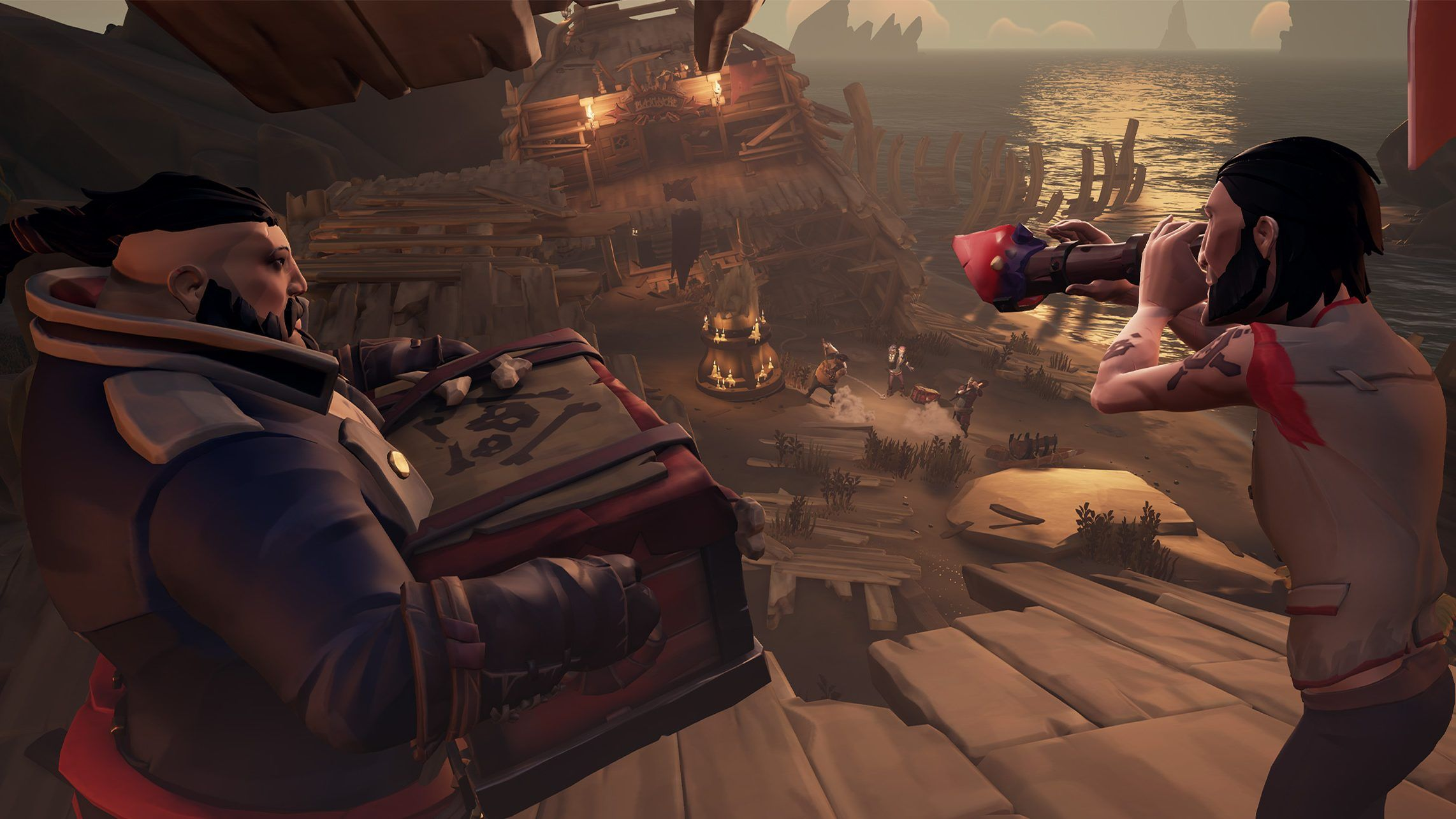 September's Free Sea of Thieves Content Update, Smuggler's