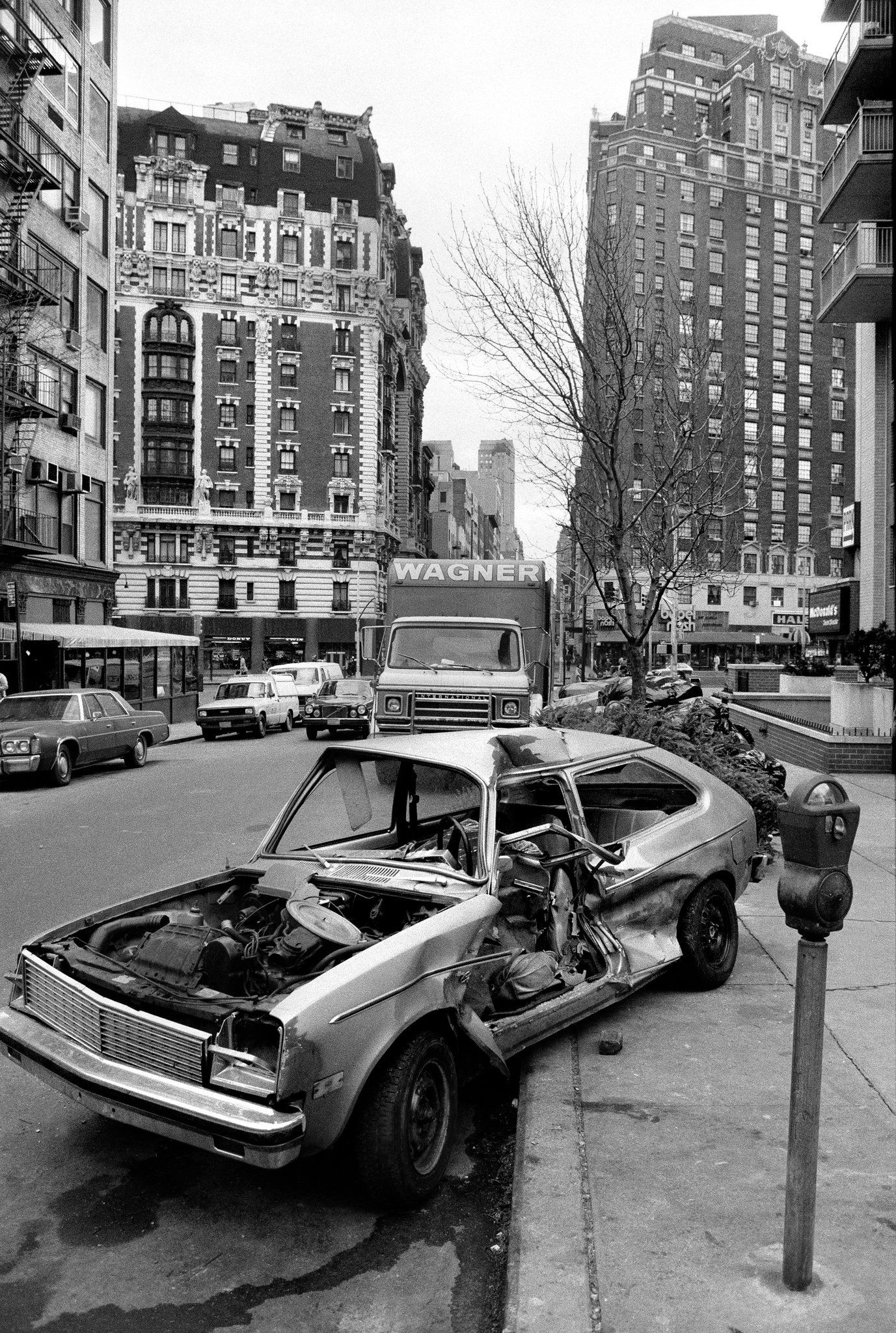 Abandoned cars are a new york memory