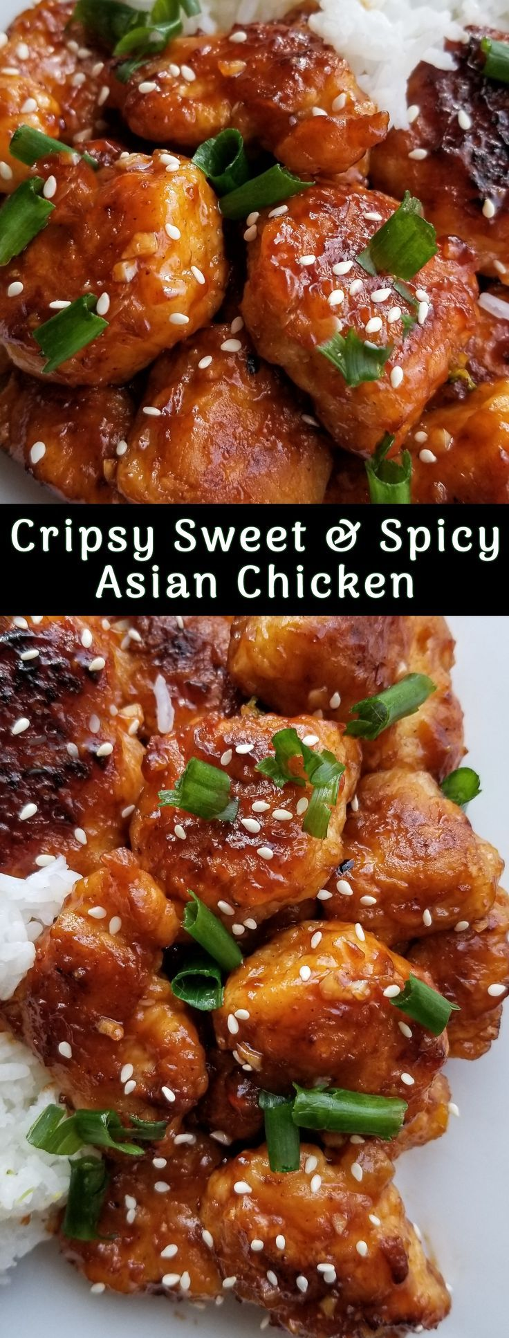 Crispy Sweet and Spicy Asian Chicken | Recipe in 2020 ...
