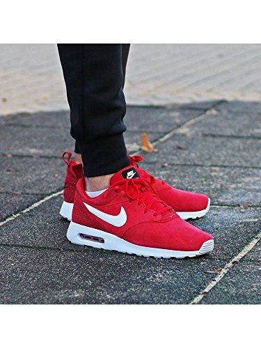 air max tavas red leather