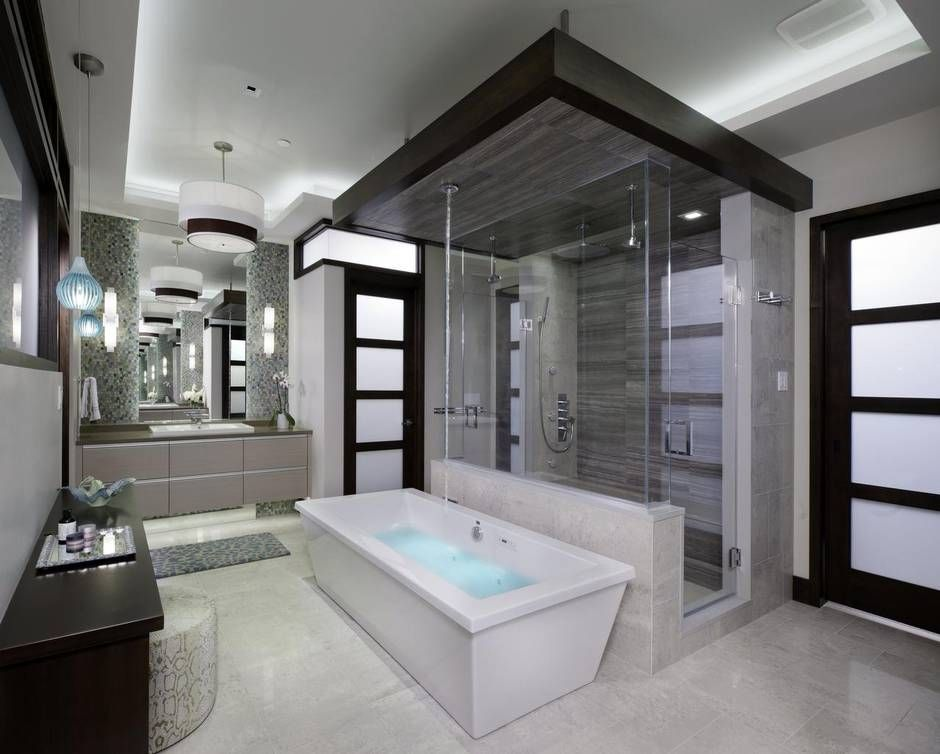 clean lines and less flash is trend for bathroom design in 2016 dallas morning news - Master Bathroom Designs 2016