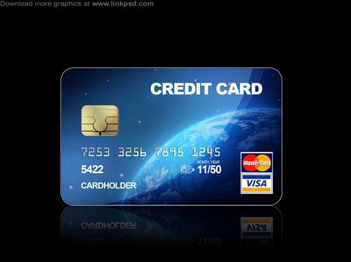 Blue Credit Cards Psd File By Mizie2009 Deviantart Com On Deviantart Credit Card Design Free Credit Card Credit Card