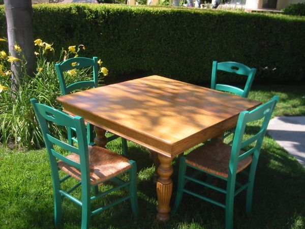 Kitchen Table and Chairs. $200   Outdoor furniture ...
