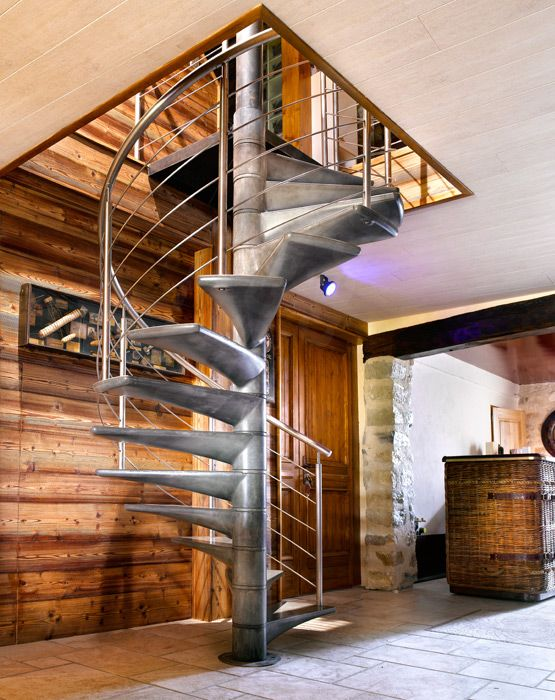 Bh1 spir 39 d co b ton en ductal escalier h lico dal d - Escalier contemporain beton ...