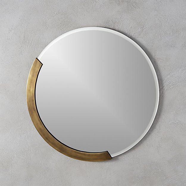 Kit 24 Round Mirror Reviews Cb2, Simple Round Mirror