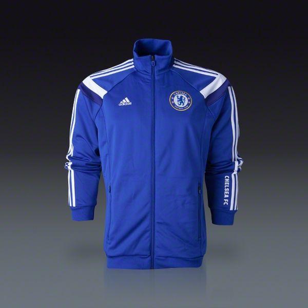 adidas Chelsea Home Anthem Jacket 14/15 | SOCCER.COM