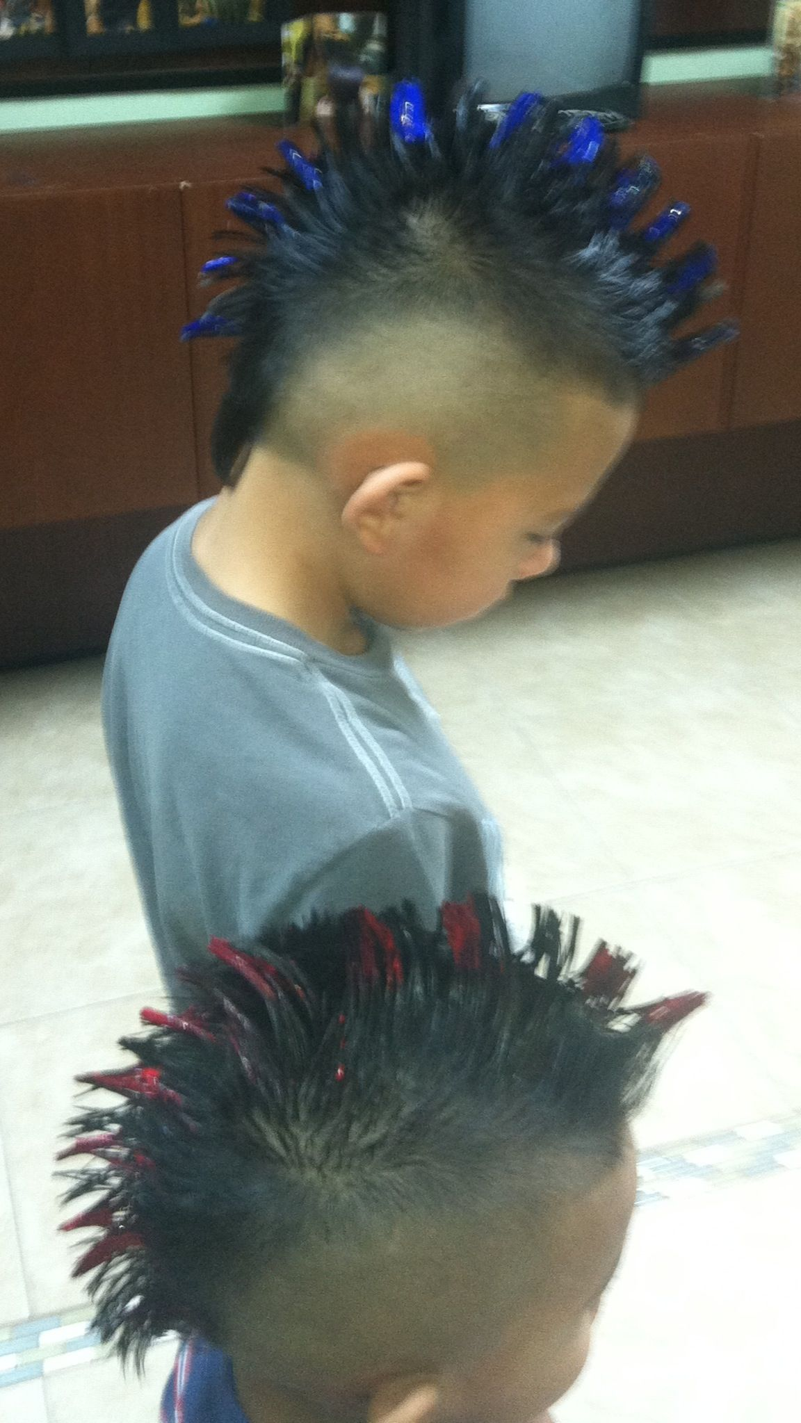Kids mohawks by elizabeth espono elyus salon kids mohawk