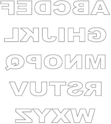 Free Printable Block Letters Printable Alphabet Letters Block Lettering Free Printable Letters