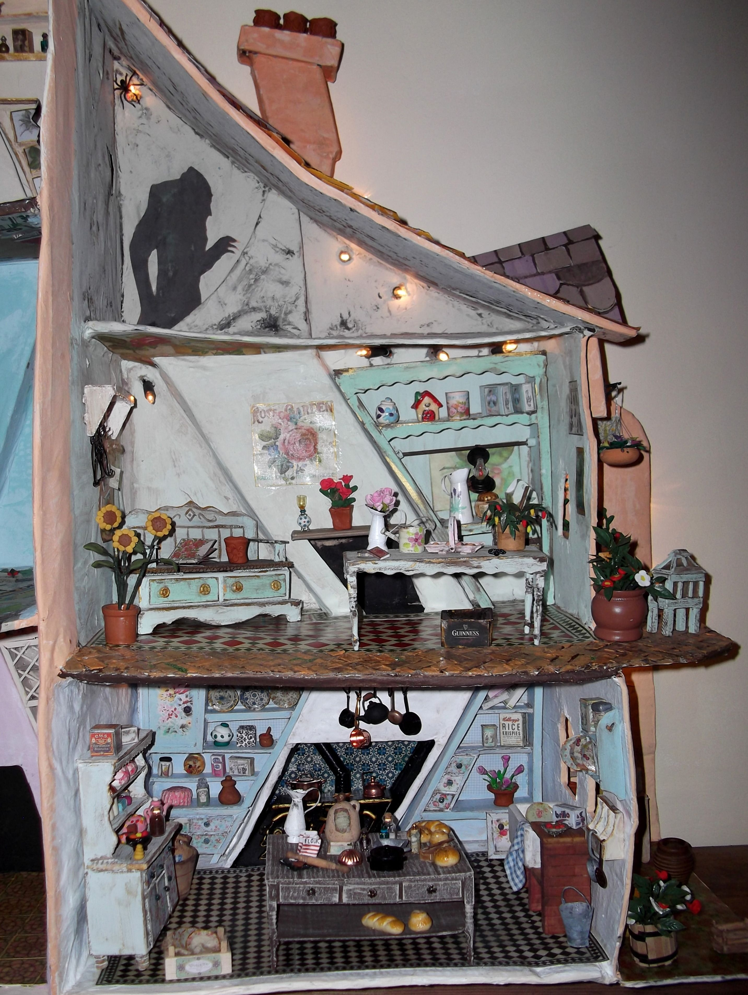 I Love Handmade Doll Houses Homemade Dolls House Blog
