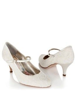 Dolly Lace Wedding Shoes / Queens