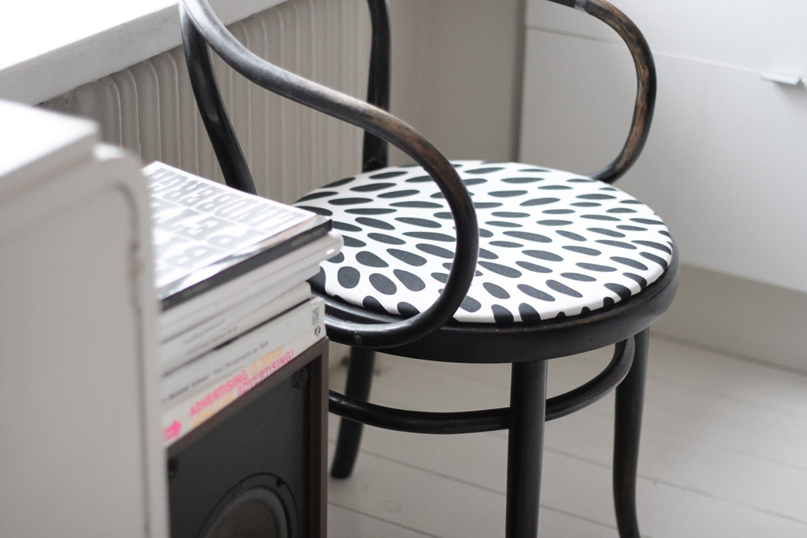 chair + IKEA fabric Ikea fabric, chair, Chair