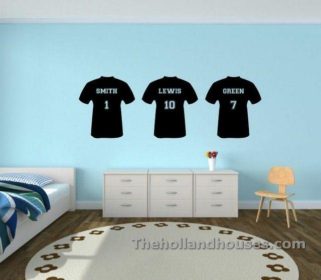 Football Bedroom Wall Stickers | Stickers Design | Pinterest ...