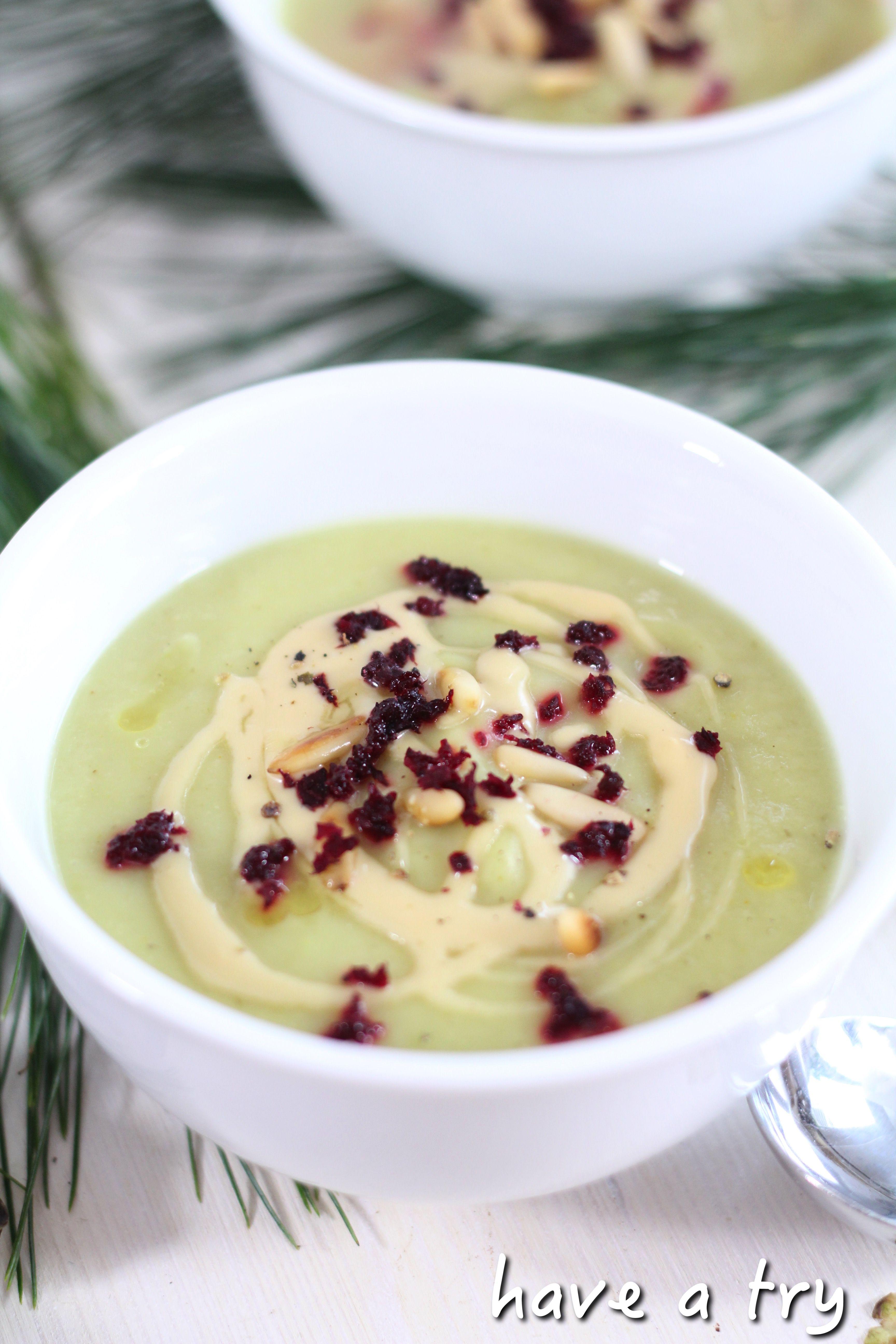 topinambur suppe mit mandelcr me vegan glutenfrei. Black Bedroom Furniture Sets. Home Design Ideas