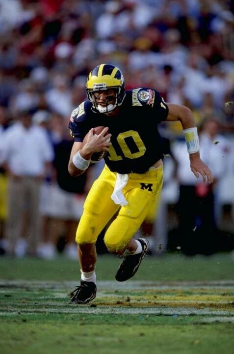 Tom Brady At The Citrus Bowl Michigan Wolverines Football Wolverines Football Michigan Sports