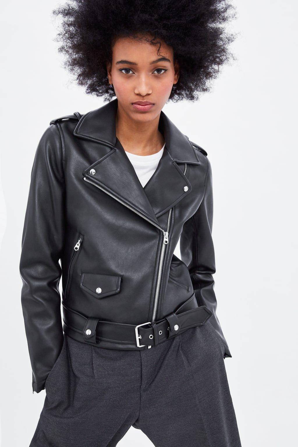 Faux leather jacket (With images) Jackets for women