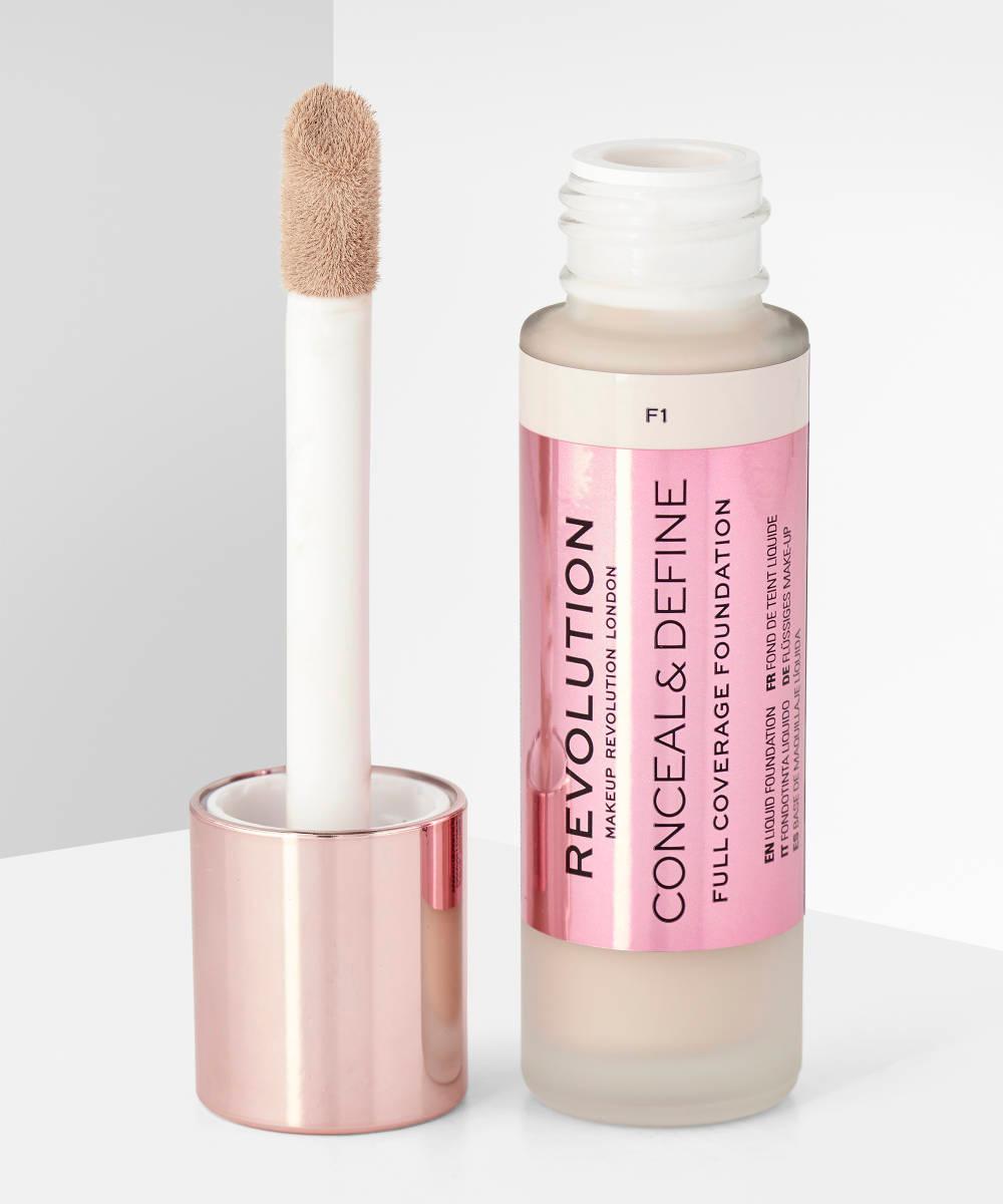 Makeup Revolution Conceal & Define Foundation F1 at