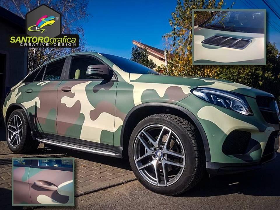 car wrapping santorografica creative design salerno