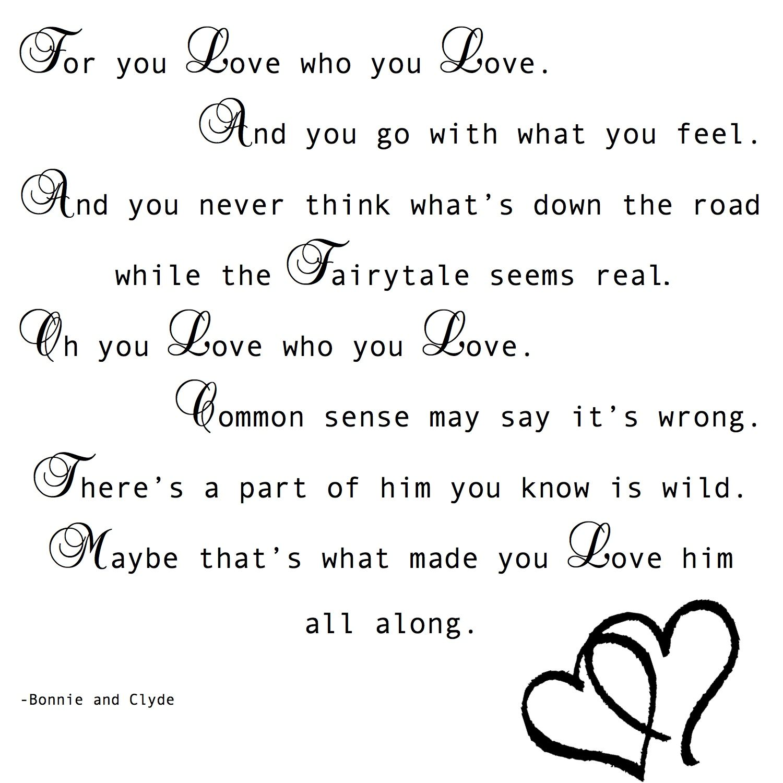 Bonnie and Clyde | True | Bonnie, clyde quotes, Bonnie ...