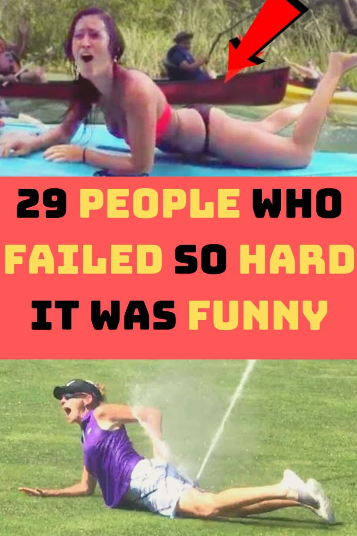 29 People Who Failed So Hard It Was Funny 29 People Who Failed So Hard It Was Funny Look, life is a long and winding journey. Despite our best efforts to have everything under control all of the time, it just does not work out like that. No matter how many precautions we take to make sure everything in life goes right, we are bound to fail once in a while. It is just how life goes.