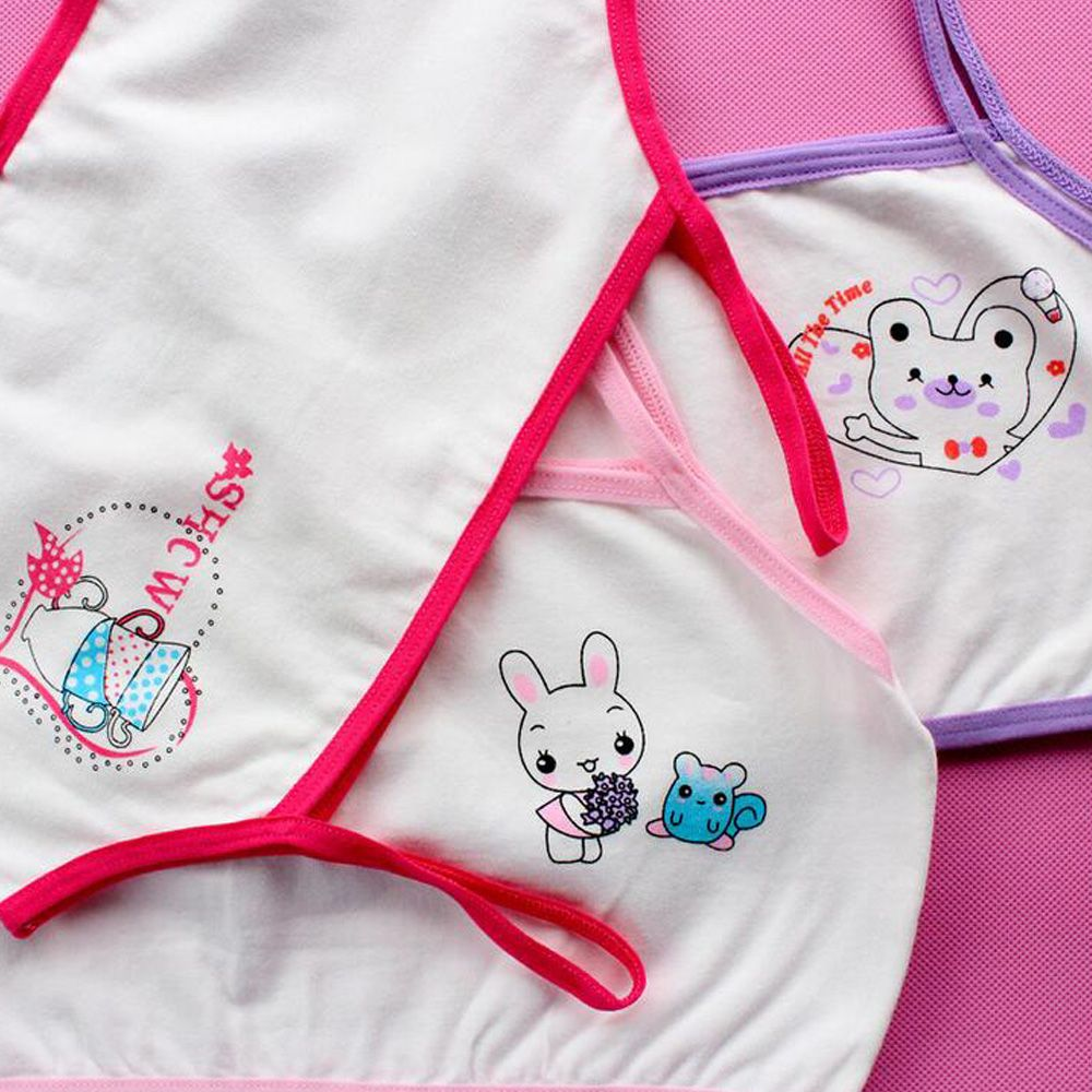 Mother & Kids Kids Girl Training Bra Cotton Teenage Underwear Young Student Puberty Lingerie