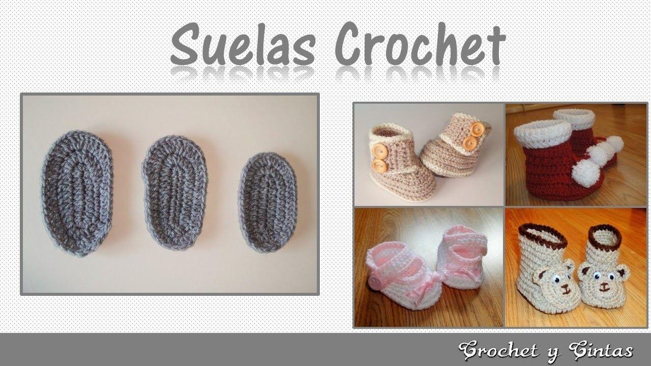 Consejos y patrones para tejer zapatos a crochet - Plantillas para ...