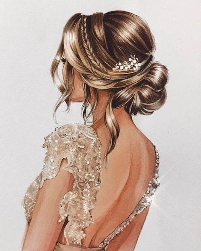Einfache Frisur Fur Abendkleid Neue Frisuren Seitliche Frisuren Frisur Knoten Frisur Hochgesteckt
