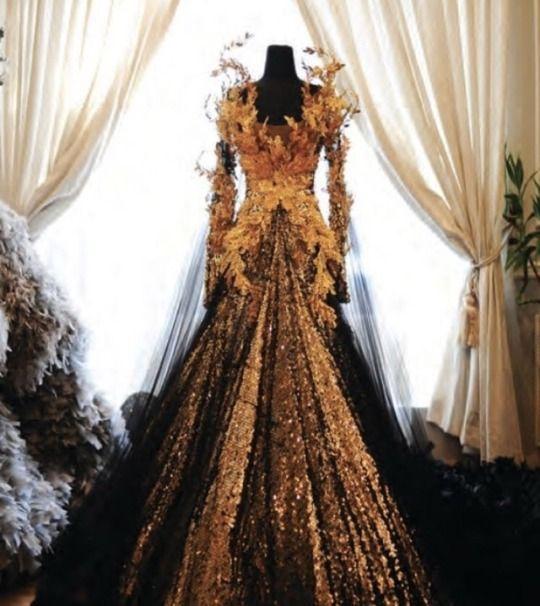 Gown for Autumn Court fae - Tex Saverio | Fantasie kleider ...