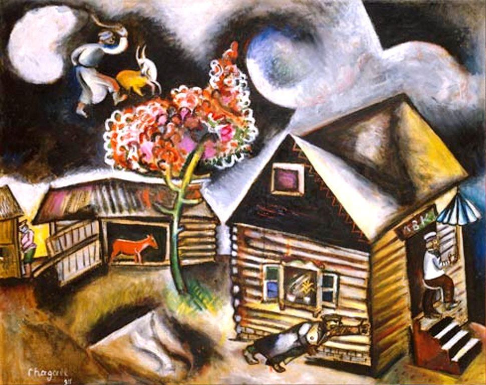 Marc Chagall Pluis 1911.