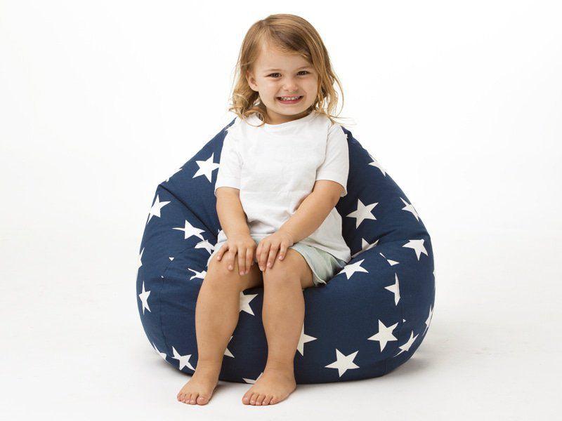 Pleasant Our New Range Of Kids Beanbags Includes This 60Cm Cotton Machost Co Dining Chair Design Ideas Machostcouk