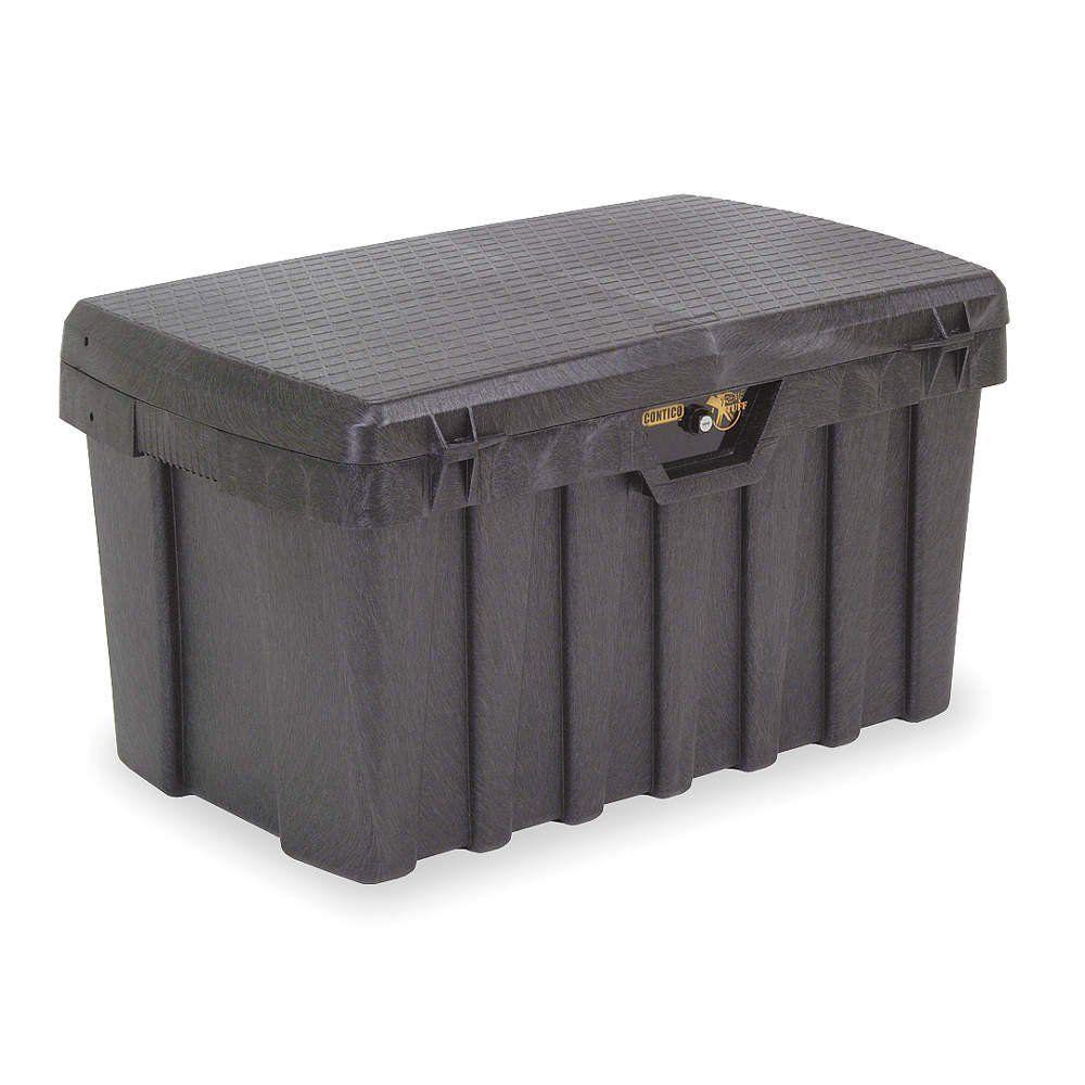 Portable storage bin