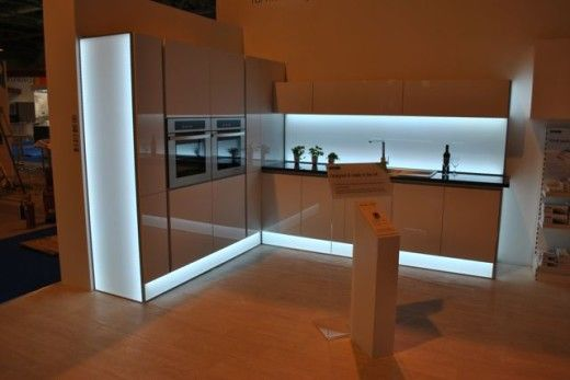 Sensiou0027s LED Panel concept was launched at KBB Birmingham 2014 - led panel küche