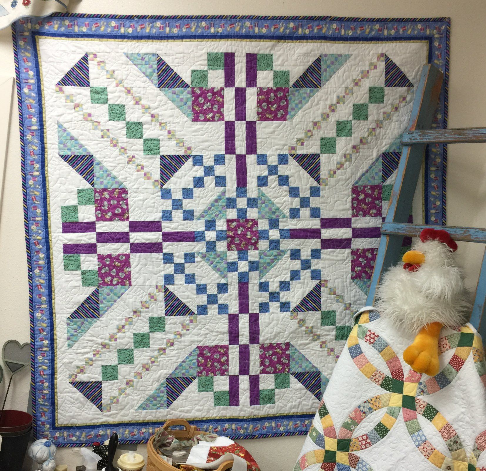 MYSTERY QUILT: Mystery Solved from Speckled Hen Quilts in Oregon ... : speckled hen quilt shop - Adamdwight.com