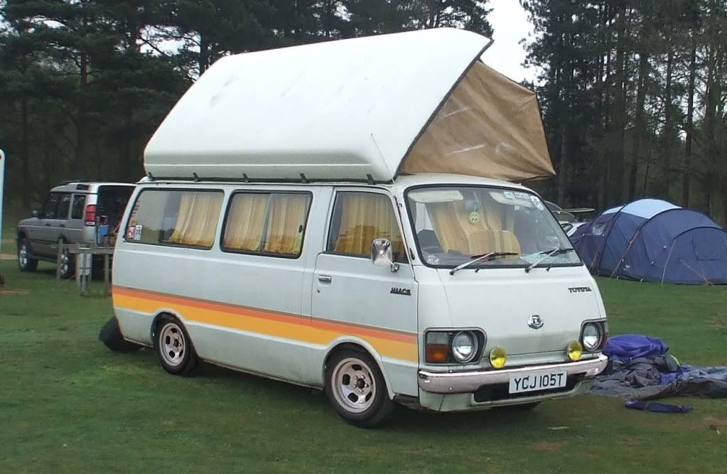 df1a17b2b4 1979 Toyota Hiace camper is a lwb 2.0litre. Unseen eBay win! I collected