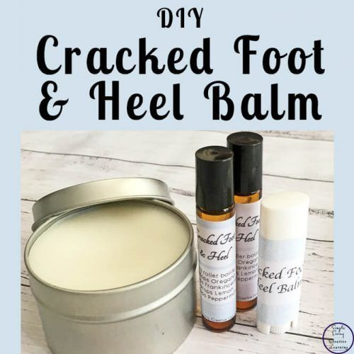 Cracked Foot & Heel Balm #crackedskinonheels This DIY Cracked Foot & Heel Balm is a great way to moisturise and help heal the cracks that can appear on our feet. #crackedskinonheels