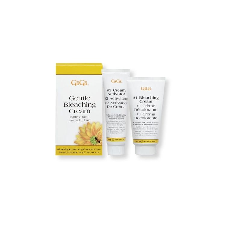 Gigi Gentle Bleaching Cream Bleaching Cream Bleaching Cream For