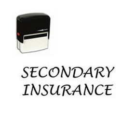Secondary Insurance Stamp Medical Stamps Online Medical